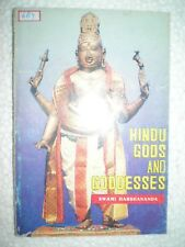 HINDU GODS AND GOODESSES RARE BOOK INDIA ILLUSTRATIONS 1987