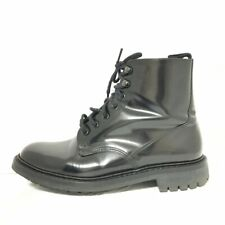Auth Church's Black Patent Leather Mens Boots