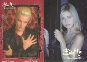 BUFFY The Vampire Slayer 2 Ansichtskarten - Postcard Neu