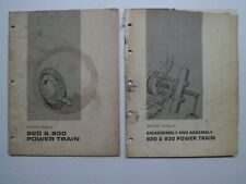 Cat Caterpillar 920 930 Power Train Service Manual Amp Disassemblyassembly Manual