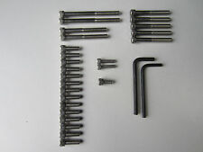 BSA BANTAM D7 ENGINE TRANSMISSION ALLEN SCREW BOLT SS SET