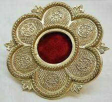 BRASS RELIQUARY WITH HANDLE FOR YOUR RELIC - VENERATION - 334 - (CHURCH, SAINT)