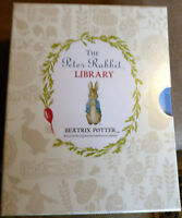 The Peter Rabbit Library- 10 Book Collection In Sealed Box Set By Beatrix Potter