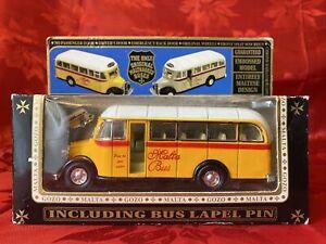 Diecast Model Original Malta & Gozo Bedford Bus