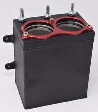 Dual Billet Aluminum Bosch 044 380 2L HighFlow External Fuel Pump Surge Tank IE