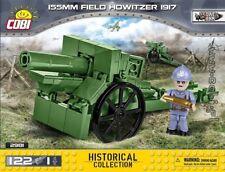 COBI 155 mm Field Howitzer 1917 / 2981 / 122 blocks WWI Frencz gun Small Army