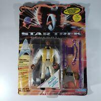 Playmates Toys Star Trek Generations Worf 19Th Century Action Figure box worn
