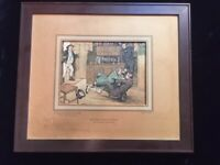 Mr Pickwick Intervenes  Pictures from Pickwick art print   House of Art NY rare