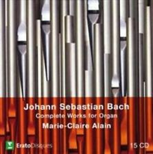 NEW Bach:Complete Organ Works (Audio CD)