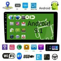 Double 2DIN 9inch Android 9.1 Car Touch Screen Stereo GPS WiFi BT FM Head Unit