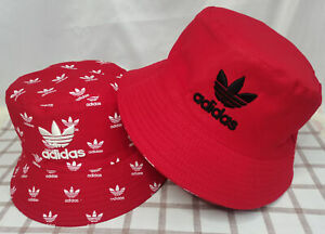 Adidas Bucket Hat Reversible Cap Red