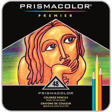 Prismacolor Premier Colored Pencils - Metal Tin Gift Set - 48 Color Set