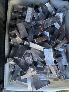 25lbs Clean Fluxed Lead Soft 1Lb Ingots For Bullets Sinkers Jig Heads Fishing
