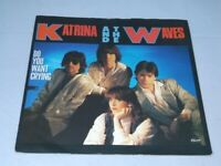 """Katrina And The Waves:  Do you want crying   1985  UK   EX   7"""""""