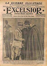 Rome Général Pierre Auguste Roques Generale Paolo Morrone & Barrère  WWI 1916