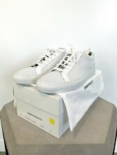 Common Projects Achilles Low Perforated White Leather Sneakers Size 44 (US 12)