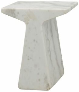 "18"" Set of Two Side Table Night Stand Quartz Stone Rustic Modern  2079"
