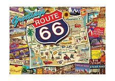 Buffalo Games Nostalgia: Route 66 - 500 Piece Jigsaw Puzzle by ... Free Shipping