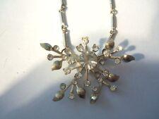 Vintage 60'S Rhinestone Necklace.Gerrmany