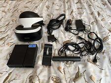 More details for playstation vr starter pack headset & camera bundle complete psvr ps4 ps5