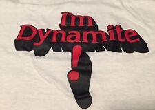 Vintage 70s TNT Dynamite Era AC/DC Healthknit 50/50% Cotton/ Poly Thin T Shirt.