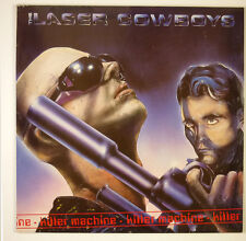 """12"""" Maxi - The Laser Cowboys - Killer Machine - B1662 - washed & cleaned"""