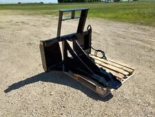 New Tree & Post Puller! Spade Cutter & Dig, Commercial Duty, Skid Steer Tractor