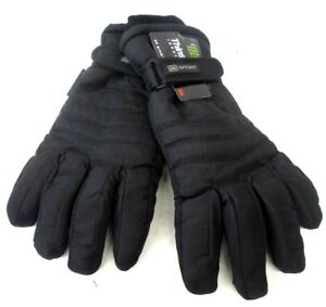 Mens Heatguard Padded Thinsulate Lined Warm Winter Gloves GL123