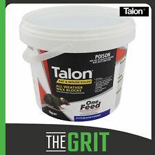 Talon Wax Blocks 1kg Rat Mouse Bait Poison Killer Rodenticide Blox Brodifacoum