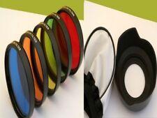 5 COLOR Glasfilter Set Für Canon EOS 700D 650D 100D 1000D 1200D 60D 60Da