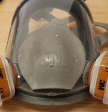 Full Face Mask Respirator Organic Vapor Cartridge Genuine Reusable Filters NEW