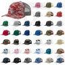 Richardson Trucker CAMO Patterned Snapback Cap Baseball Hat - 112P