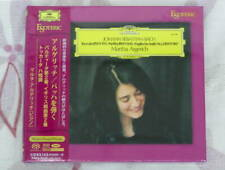 Esoteric SACD ESSG-90161:Bach/Toccata, Partita, English Suite No.2 Argerich New