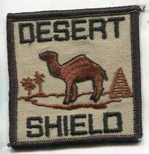 OPERATION DESERT SHIELD CAMPAIGN PATCH CAMEL