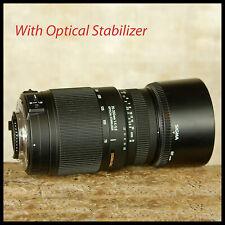 Optical Stabilisation Nikon AF-S fit Sigma 70 300mm OS VR VC DG Zoom lens