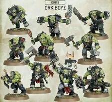10x Ork Boyz - NEUES DESIGN - Warhammer 40k NEU