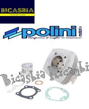 10709 - CILINDRO POLINI IN ALLUMINIO DM 46 PEUGEOT 103 104 105 GL10 SPX