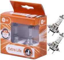 H7 PX26d GE General Electric Extra Life 58520DPU Longlife LL Duo Box AT
