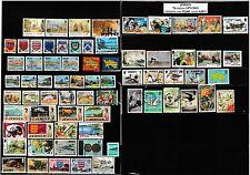 48 timbres oblitérés de JERSEY de 1969 à 2013 bon état identique à la photo