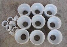 New Lot of 9 NIBCO Pipe Reducers, 4801-4X2 & 4801-2-F-2X1-1/2, PVC, DWV