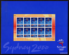 2000 Sydney Olympic Games Open Post Office Pack Australia Mint Stamps