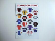 2.Bundesliga Magnet-Trikot-Pins 17/18 Liga Pin DFL 2017/2018 Neu Magnet Tabelle