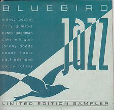 BLUEBIRD JAZZ Limited Edition Sampler CD - Card Sleeve - Promo Disctronics