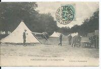 CPA-77 -  Carte Postale - Fontainebleau - Le Camp d'Avon