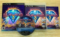 Bejeweled 3 (Sony PlayStation 3, PS3) COMPLETE WORKS PERFECT SHIPS FAST