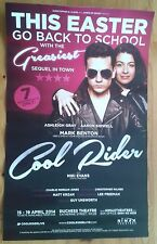"""12.5x20"""" Cool Rider Easter poster Duchess Theatre 2014 Ashleigh Gray"""