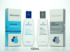 100ml BERGAMOT DELICATE EXTRA SHAMPOO REDUCE WEEK SCALP HAIR PROBLEM