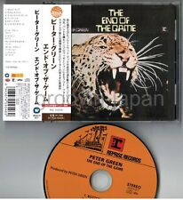 PETER GREEN The End Of The Game JAPAN CD WQCP-811 w/OBI FLEETWOOD 2009 Free S&H