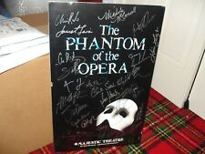 Phantom of the Opera Signed Poster 2011 - Broadway Cast, Majestic Theater NYC