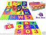 LARGE Foam EVA  Kids Baby Play Interlocking GYM Alphabet Numbers Puzzle FloorMat